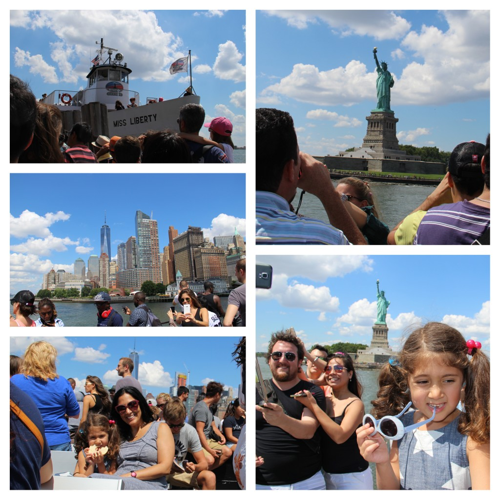 Top 5 Tips for Visiting The Statue of Liberty. The ferry offers amazing views of The Statue of Liberty.
