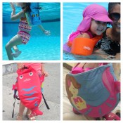 Beach Getaway with Kids, Must Have, Accessories, Globetrotting Mommy, Family Beach Vacation, swim float, Paddle Pak, Trunki