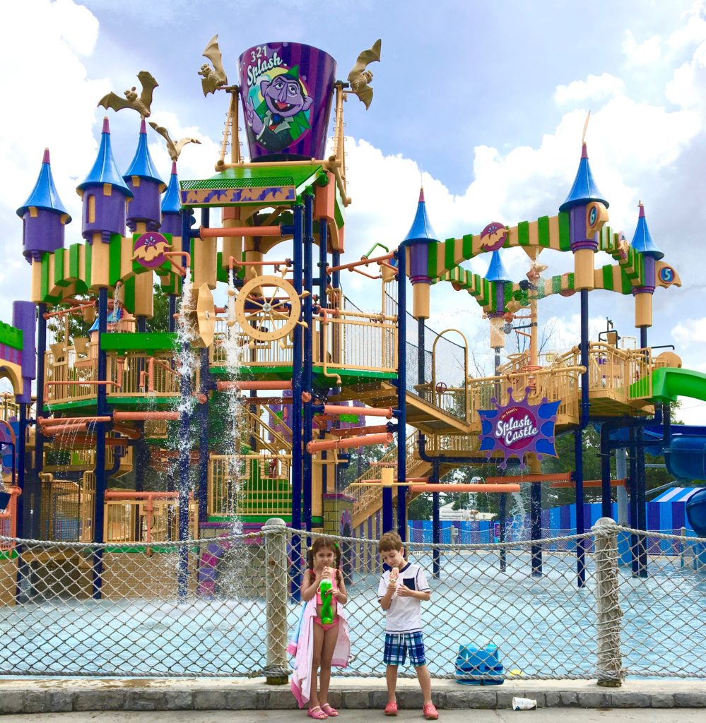 Get ready to get wet at The Count's Splash Castle. Globetrotting Mommy, Sesame Place Tips
