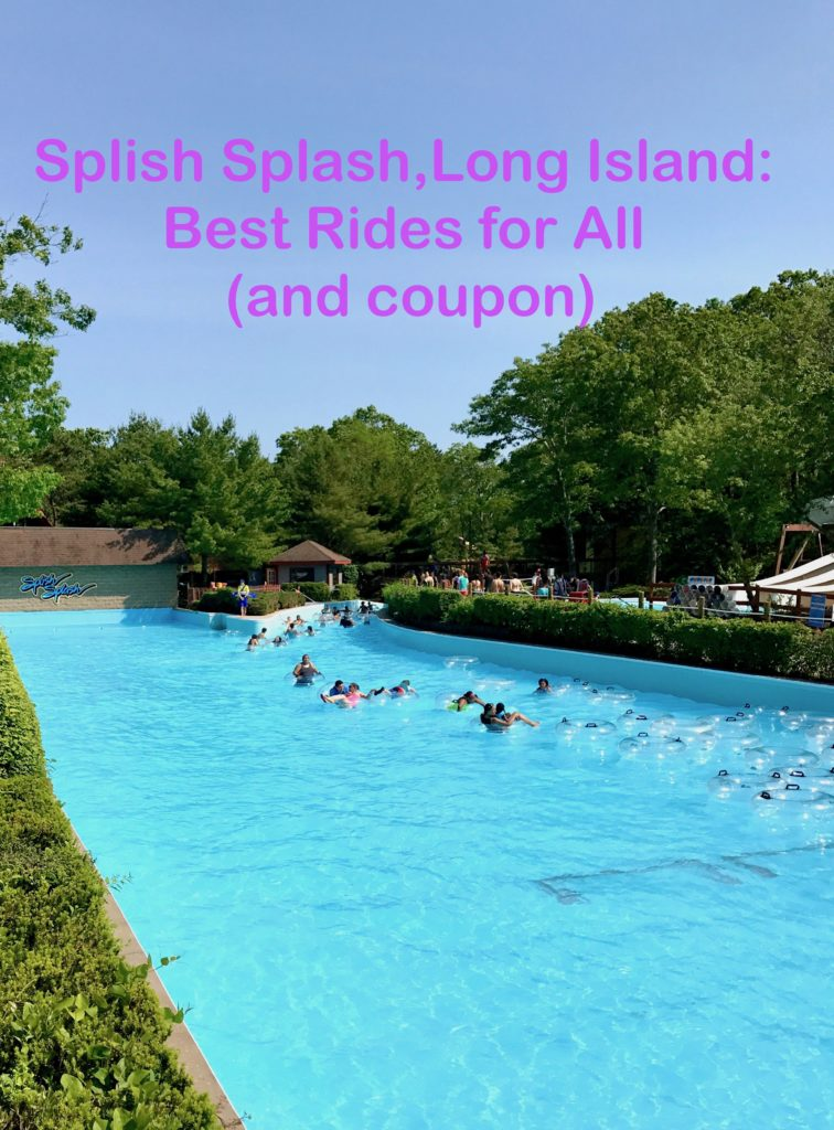 Best Rides at Splish Splash, Long Island.