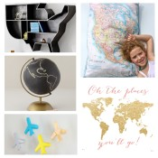 Decorating Finds, Travel Inspired Nurseries, Kids Room, Kids Decor, Globetrotting Mommy