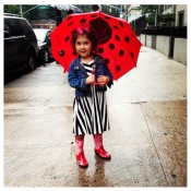 April Showers, Best Umbrellas for kids, Rain, Rainwear, Umbrellas, kids, kids fashion, girls, kidorable
