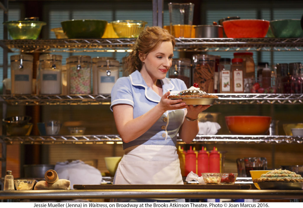 6 Great NYC Shows for the Holiday Season - Waitress is the perfect feel good Broadway musical for the holiday season.