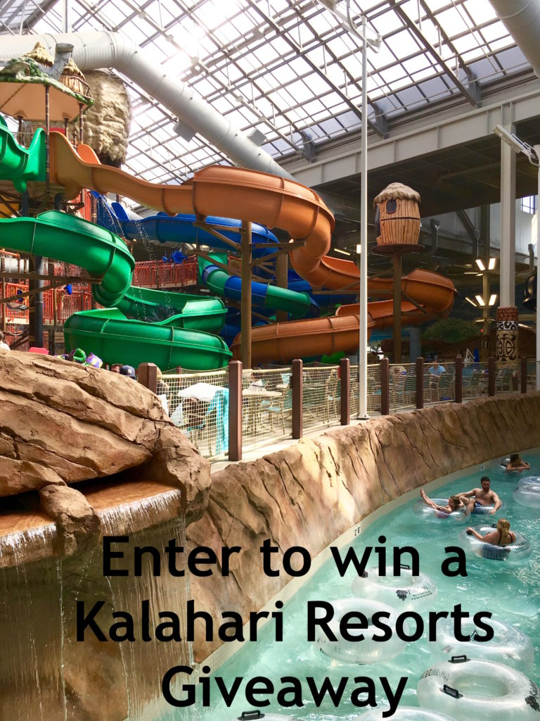 Water parks 101: Enter to win a Kalahari Resorts Giveaway