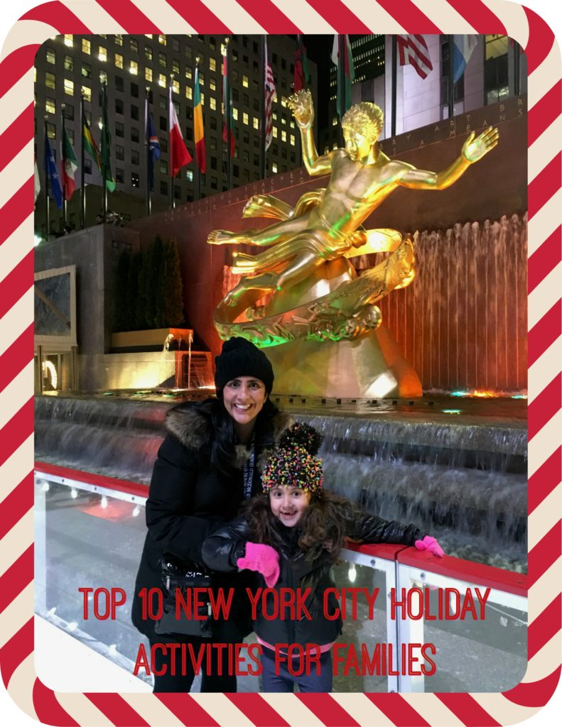 Top 10 New York City Holiday Activities For Families