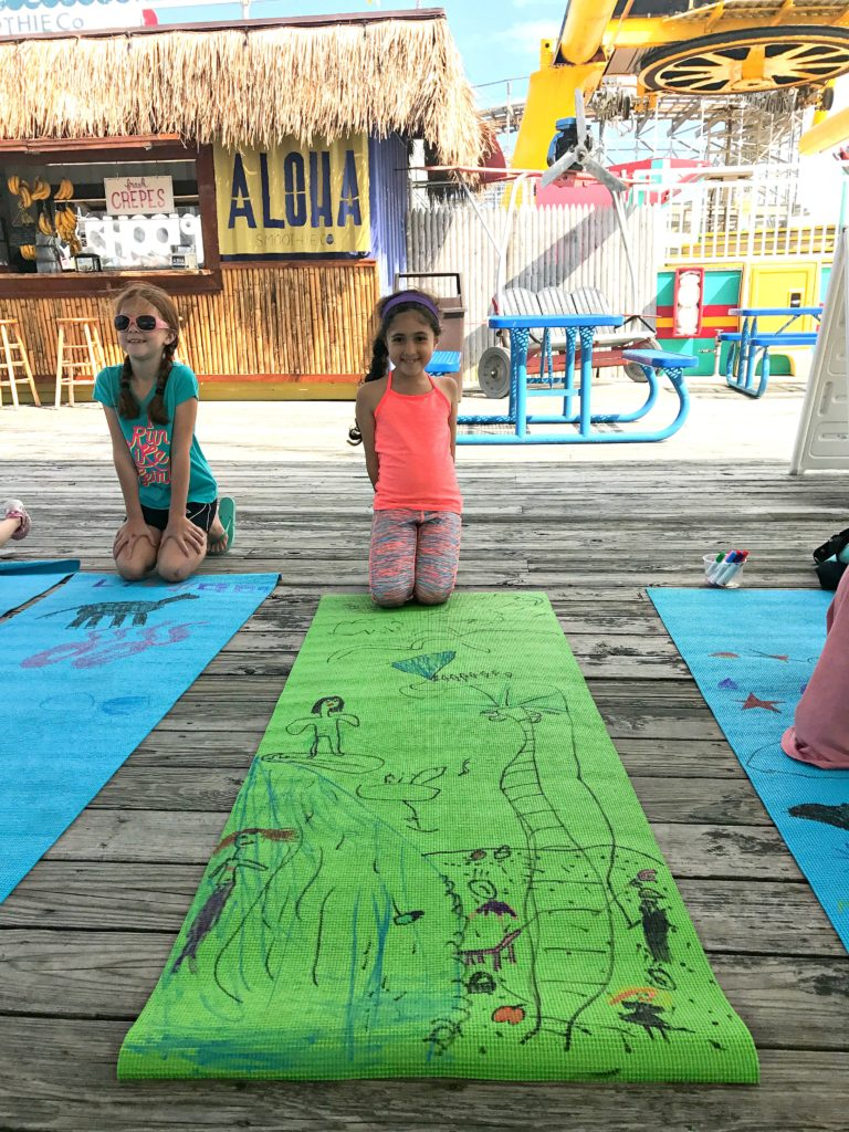 My daughter enjoyed a kids yoga and art class on Adventure Pier. Top 10 Tips for Visiting Morey's Piers in Wildwood, New Jersey