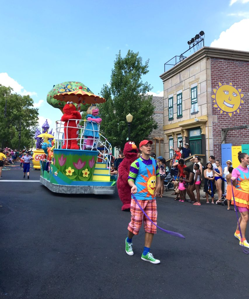 Don't miss Sesame Place's Neighborhood Street Party Parade