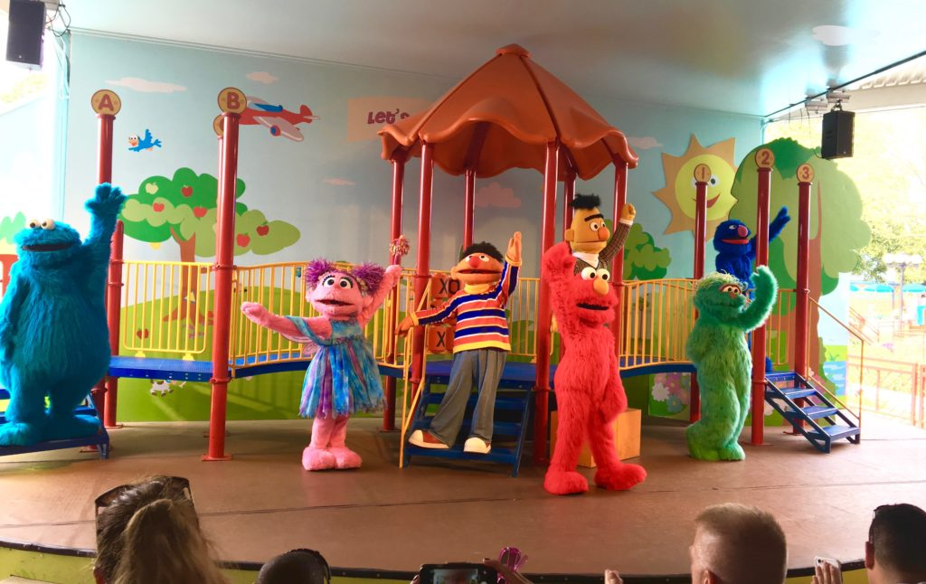 Be sure to take in a show at Sesame Place. Sesame Place Tips, Globetrotting Mommy